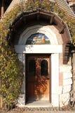 Haus der Eulen (Casina delle Civette) stockbild