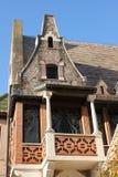 Haus der Eulen (Casina delle Civette) lizenzfreies stockfoto