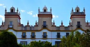 Haus der fünf Türme, Spanien-Quadrat, Cadiz Lizenzfreie Stockfotografie