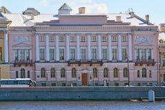 Haus der Gräfin A g Laval in St Petersburg, Russland Stockfotografie