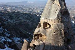 Haus in der Höhle in Cappadocia Lizenzfreie Stockfotos