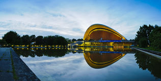 Haus der kulturen der welt in berlin Stock Images