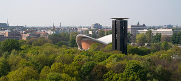 The Haus der Kulturen der Welt ( Royalty Free Stock Photo