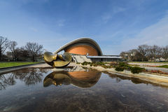 Haus der kulturen der welt in berlin, germany Royalty Free Stock Photography