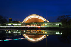 The Haus der Kulturen der Welt (House of the Cultures of the World) Royalty Free Stock Photo