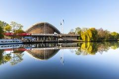 The Haus der Kulturen der Welt (House of World Cultures) in Berl Stock Image