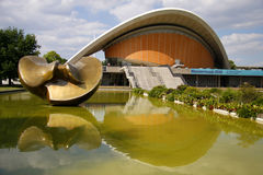 Haus der Kulturen der Welt (House of World Cultures). CIRCA AUGUST 2014 - BERLIN: the Haus der Kulturen der Welt (House of World Cultures) in the Tiergarten Royalty Free Stock Image