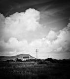 Haus in der Landschaft Stockfotografie