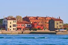 Haus in der Lido Insel Venedig Italien lizenzfreies stockfoto