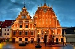 Haus der Mitesser in der alten Stadt von Riga, Lettland