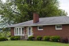 Haus in der Natur Stockbild