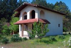 Haus in der Natur Stockfotografie