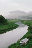 Haus in der Natur Thailand Lizenzfreie Stockbilder