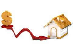 Haus der niedrigen Kosten Lizenzfreie Stockfotos