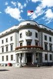 Haus der Politik, das Hessischer Landtag in Wiesbaden Lizenzfreie Stockbilder