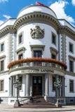 Haus der Politik, das Hessischer Landtag in Wiesbaden Stockfotos