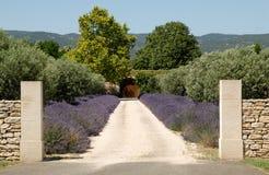 Haus in der Provence lizenzfreies stockfoto