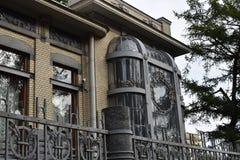 Haus der russischen Ballerina Matilda Kschessinska, Geliebte des Zars Nikolaus II. Stockfotografie