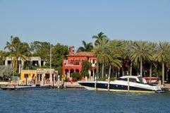 Haus in der Stern-Insel lizenzfreies stockfoto