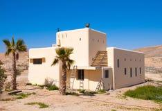 Haus in der Wüste Stockfotos