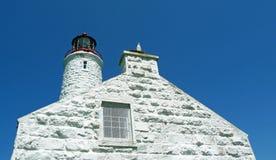 Haus des 19. Jahrhunderts Leuchtturm- und Wächter Stockbilder