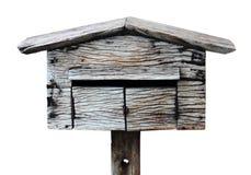 Haus des alten hölzernen Vogels Lizenzfreie Stockbilder
