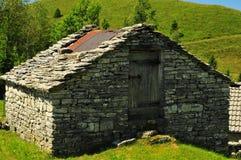 Haus des Berges lizenzfreie stockbilder