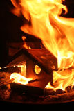 Haus des Feuers Stockbilder