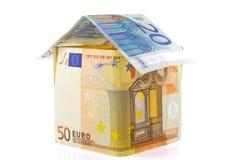 Haus des Geldes Stockbild