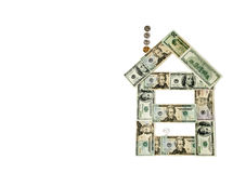 Haus des Geldes Stockbilder