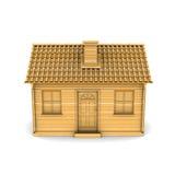 Haus des Holzes Lizenzfreies Stockbild
