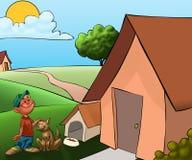 Haus des Hundes Lizenzfreie Stockbilder