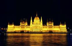 Haus des Parlaments Budapest Stockfotos