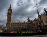 Haus des Parlaments und des Big Ben Stockfotografie
