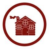 Haus des Weihnachtsjahreszeitdesigns Lizenzfreies Stockfoto