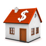 Haus-Dollar Stockfotografie