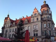 Haus in Dresden Lizenzfreie Stockbilder