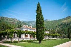 Haus durch das adriatische Meer Stockbilder