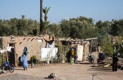 Haus einer marokkanischen Familie Lizenzfreie Stockfotografie