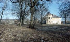 Haus in einer Natur Lizenzfreie Stockfotografie
