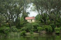 Haus eines Hügels Stockbilder