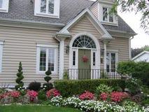 Haus-Eingang Stockfotos