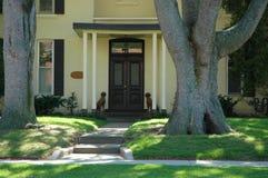 Haus-Eingang Stockfotografie