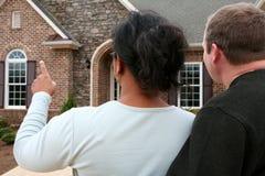 Haus-Einkaufen lizenzfreies stockfoto