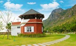 Haus am Erholungsort in Thailand Asien Stockfotos