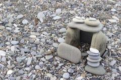 Haus errichtete Felsen lizenzfreies stockbild