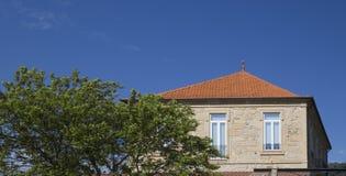 Haus färbt Portugal Lizenzfreies Stockbild