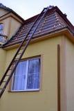 Haus für Rekonstruktion Stockbild