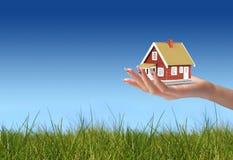 Haus für Sie Stockbild