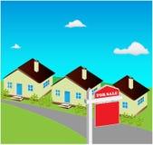 Haus für Verkauf Lizenzfreies Stockbild